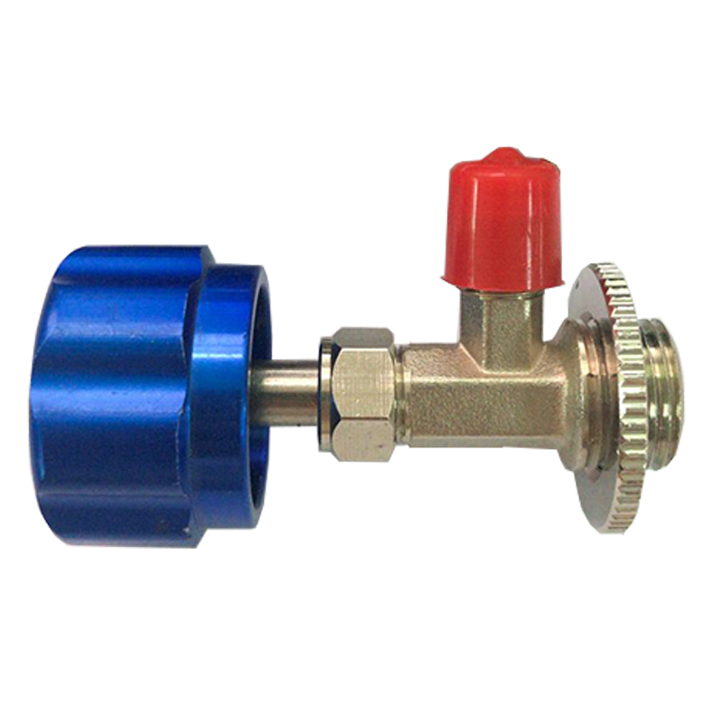 Refrigerant Bottle Opener Can Tap Dispensing Valve M12 for Car Air Conditioning A//C System 1//4 SAE R12 R22 R600a