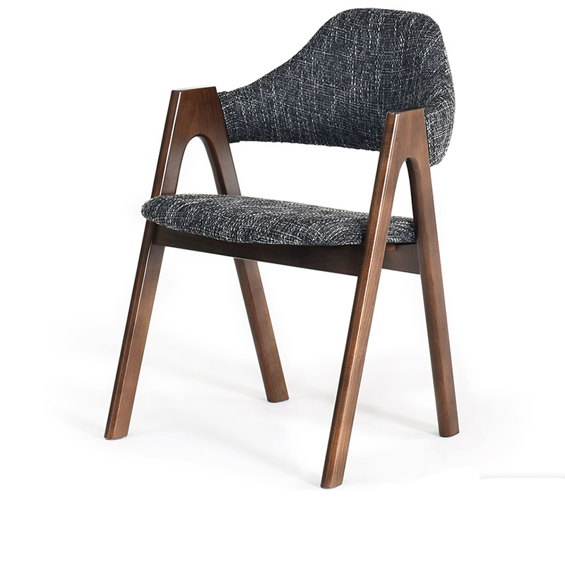 Wood Nordic Dining Chair Stool Backrest Computer Chair Desk Home Office Simple Modern Wooden Chair Lounge Chair|  - title=