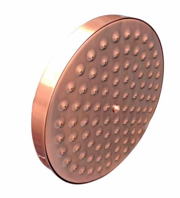 Baterie prysznicowe antyczny czerwony miedzi łazienka prysznic Mixer Tap kran ustaw deszczownica szef prysznic zestaw do montażu na ścianie bateria do wanny zestawy zrg609