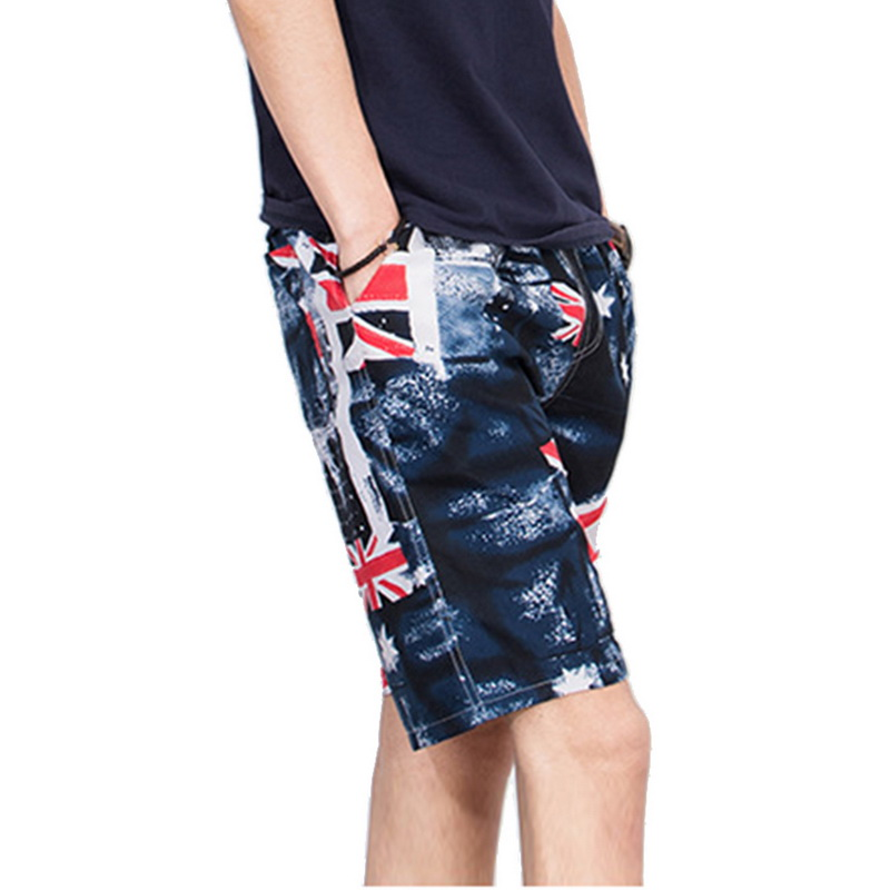 Summer Quick Dry New Men's Beach Shorts Summer Sports Board Print Pants Casual Fashion Swimming Shorts Oversized шорты мужские 4