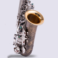 Il belin Free Promotional Saxophone Alto Black Nickel Silver Alloy Alto Sax Brass Musical Instrument With Case Mouthpiece Copy