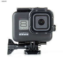 60M Waterproof Case Black Underwater Diving Protective Shell Cover Housing For GoPro Hero 8 Black Action Camera Accessories