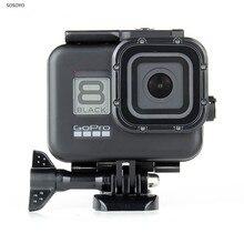 60M wodoodporna obudowa czarna podwodna nurkowanie ochronna powłoka etui obudowa dla GoPro Hero 8 czarne akcesoria do kamer w ruchu