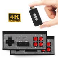 2019 Newest Retro Video Game Console 8 Bit Built in 600 Classic Games Mini Wireless Console AV Output Dual Gamepads