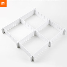 xiaomi youpin fizz Drawer dividers Storage 7pcs Free combination wardrobe Foamed PVC waterproof smooth texture Easy to clean(China)