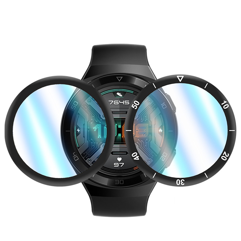 gt 2e watch Film for huawei watch gt 2e Screen Protector 3D Curved Edge Full Coverage Soft Protective Film for huawei gt 2 e