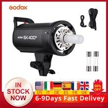في تشيكوسلوفاكيا Godox SK400 II SK400II GN65 المهنية استوديو فلاش ضوء W/ 2.4G اللاسلكية X نظام التحكم الإبداعية اطلاق النار SK400 2 II