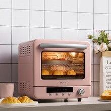 Casa 20l forno elétrico para pão mini forno torradeira ciclone a vapor forno elétrico pizza multifunções máquina de café da manhã 220v
