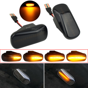 Dynamic Turn Signal Blinker Sequential Side Mirror flasher For Honda CRV Accord Civic City Fit Jazz Stream HRV S2000 Odyssey image