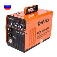 Инвертор сварочный полуавтоматическая ИСА Миг-220 МИГ/MAG IGBT MIG+MMA полуавтомат С Газом/Без газа G0014