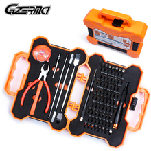 75 in 1 Professional Electronics Screwdriver Set Repair Tools Kit With Scissors Plier For iPad