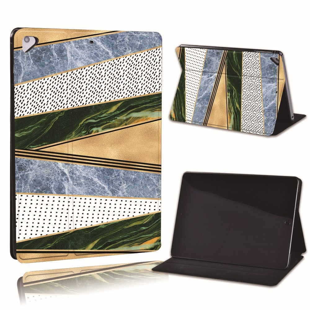 14.multi color Clear For Apple iPad 8 10 2 2020 8th 8 Generation A2428 A2429 PU Leather Tablet Stand