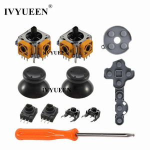 Image 4 - IVYUEEN 11 in 1 Analog Stick Sensor Potentiometers + Thumb Sticks LT RT Trigger Switch Button for Microsoft Xbox 360 Controller