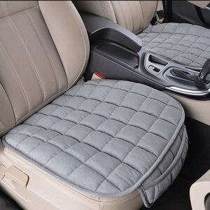 Image 3 - Универсальные зимние теплые чехлы для сидений автомобиля, Нескользящие Чехлы для передних сидений, дышащие накладки для автомобильных сидений, Защитные чехлы для автомобильных сидений