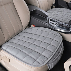Image 3 - Universal Winter Warm Car Seat Cover Cushion Anti slip Front Chair Seat Breathable Pad Car Seat Protector Seat Covers for Cars