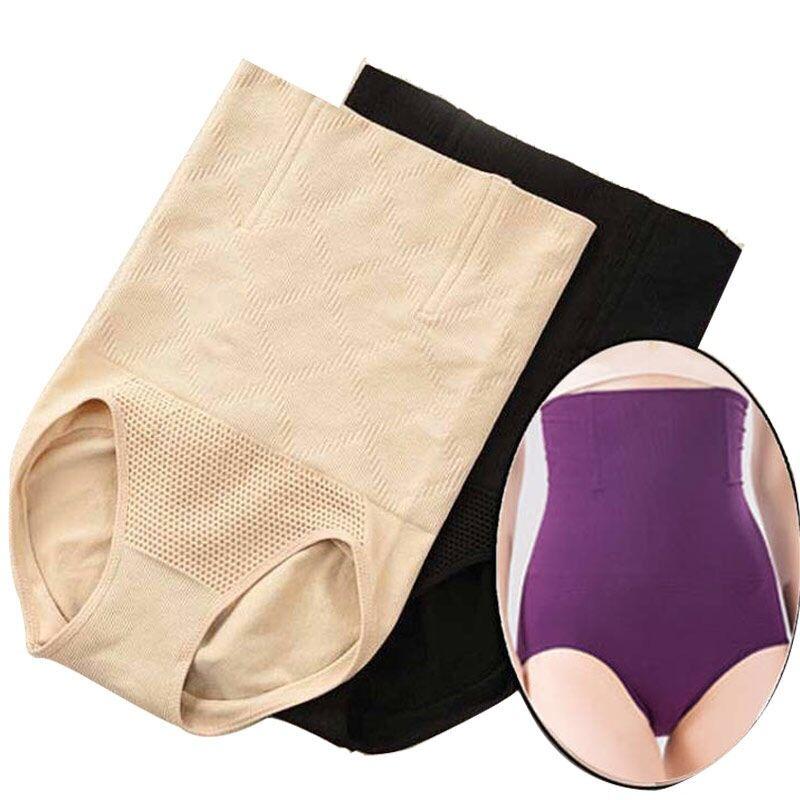 Seamless Women Shapers High Waist Slimming Tummy Control Knickers Pants Pantie Briefs Body Shapewear Lady Corset Underwear N9058