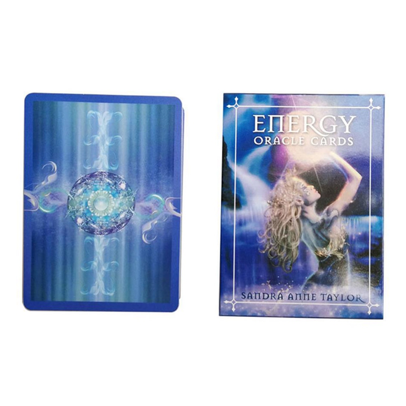 English Oracle Cards Deck Tarot Cards Guidance Divination Fate Board Game Card Game For Women All English Energy Tarot
