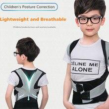 Costas ombro suporte cinto postura corrector para adultos crianças voltar straightener cintas lombar suporte em linha reta ombro collants