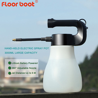 Floor boot 3L high energy electric garden sprayer pump garden fogger fog garden water sprayer bottle misting garden watering