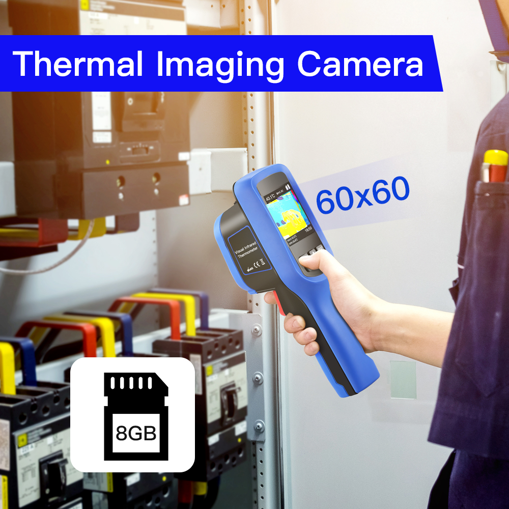 Image 2 - SeeSii 60x60 Handheld Infrared Thermal Imager 8GB Imaging Camera  Temperature  4℉~572℉ thermal Infrared camera thermiqueTemperature  Instruments