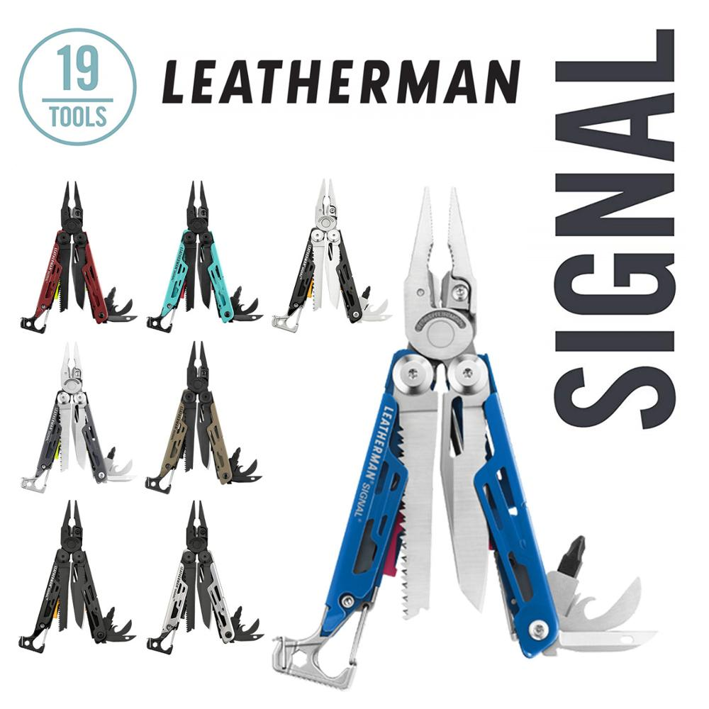 LEATHERMAN - SIGNAL Camping Multitool With Hammer, And Emergency Whistle - 8 Colors
