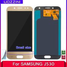 AMOLED LCD 5 2 cal LCD do Samsung Galaxy J530 J530F J530M J5 Pro 2017 wyświetlacz LCD ekran dotykowy Digitizer mały rozmiar Pantalla tanie tanio uozzini CN (pochodzenie) Pojemnościowy ekran 1280x720 3 J5 Pro 2017 J530F SM-J530F LCD i ekran dotykowy Digitizer Black Gold