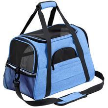 Cat Dog Carrier Pet Backpack Messenger Bag Transport Outgoing Travel Packets Breathable Small Handbag