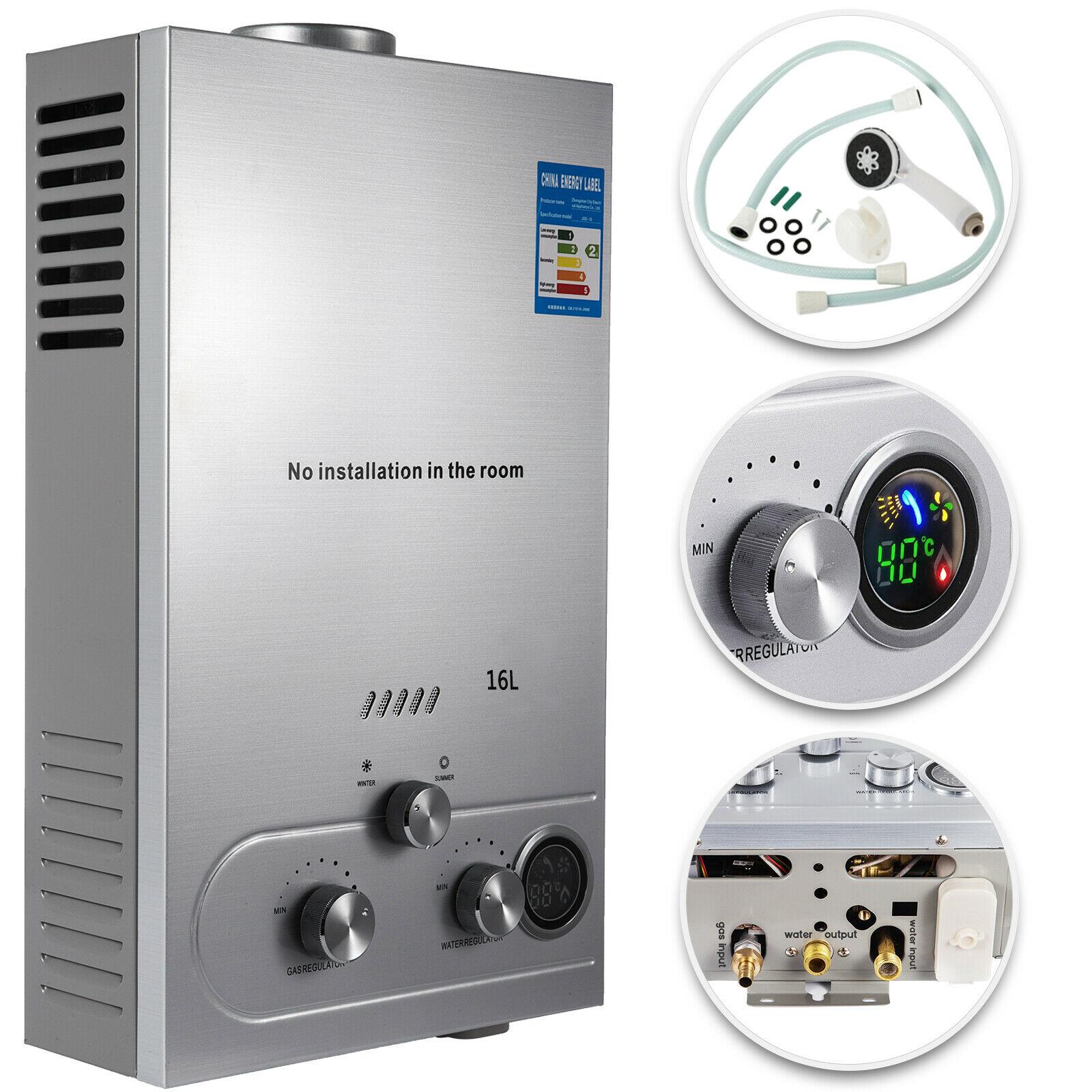 16L propane gas LPG water heater boiler water heater water tank