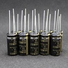 6 pces nova tailândia elna silmic ii rfs 16v470uf 12.5x25mm capacitor eletrolítico silmici 470uf 16v venda quente 470uf/16v