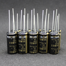 6Pcs Nieuwe Thailand Elna Silmic Ii Rfs 16V470UF 12.5X25Mm Elektrolytische Condensator Silmicii 470Uf 16V hot Koop 470Uf/16V