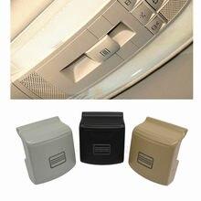 Interruptor de techo solar para mercedes-benz W204 W212 C200 GLK300, 3 colores, 1 ud.