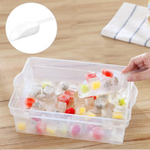 1 Pcs Plastic Schop Sweet Favor Candy Bar Ice Sugar Buffet Scoops Wedding Party Set Thuis Leverancier Multi-Gebruik ijs Schop Z0527(China)