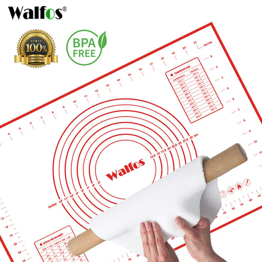 50x70cm Extra Large Pastry Silicone Baking Non-stick Mat With Measurements
