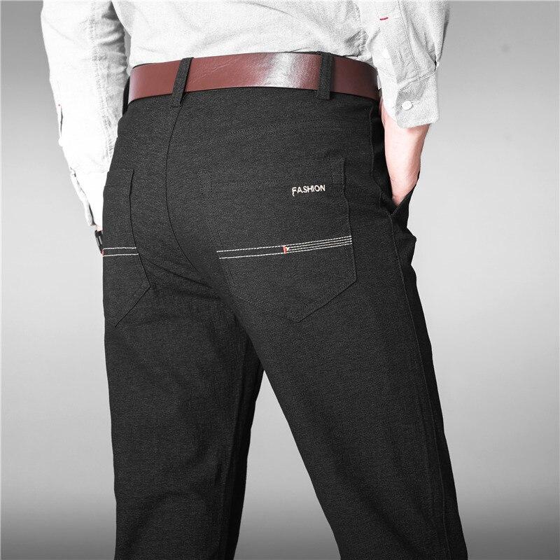 2019 New Arrival Men Luxury Suit Pants Social Dress Pants Mens Slim Fit Formal Blazer Trousers Pantalon Costume Homme Black