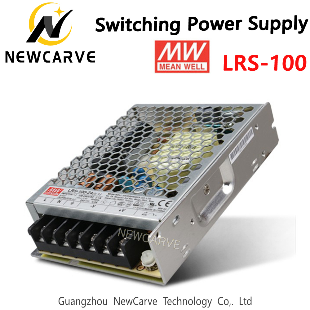 LRS-100 Original Taiwan <font><b>Meanwell</b></font> <font><b>100W</b></font> Switching Power Supply MW 3.3V 5V 12V 15V <font><b>24V</b></font> 36V 48V NEWCARVE image