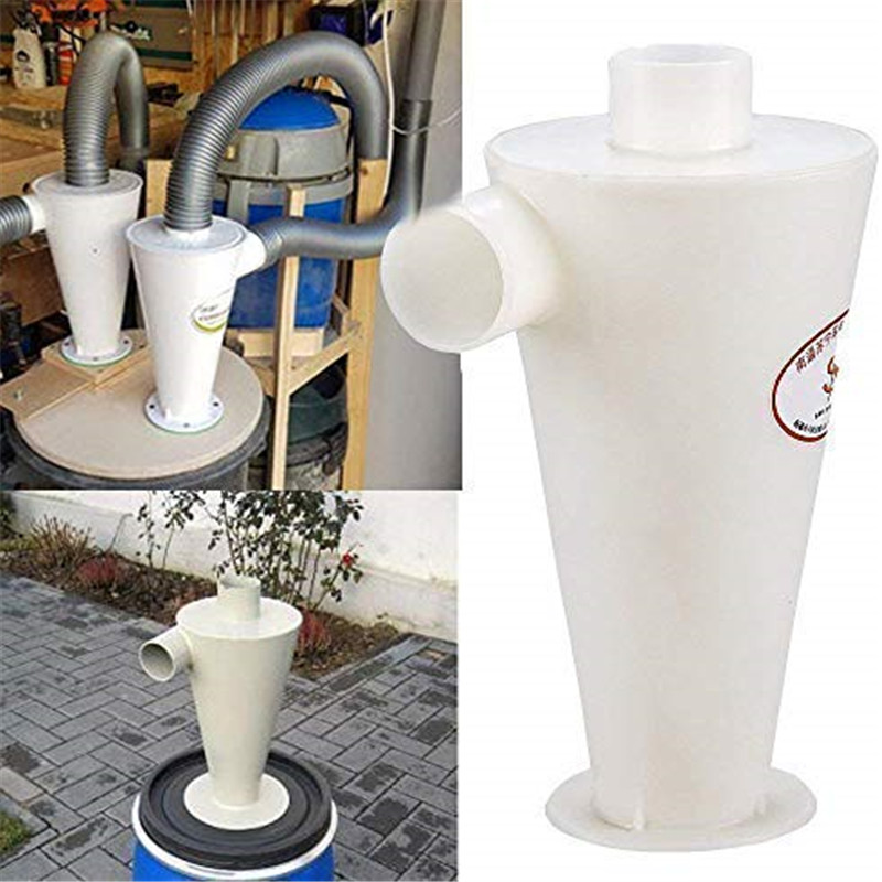 Cyclone Dust Collector Separator Filter Vacuums Cleaners Filter Tool For Vacuums Plastic Powder Dust Extractors Separator