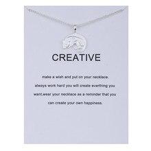 Fashion Jewelry Animal Zodiac Mouse Choke Necklaces New Life Rabbit Alloy Clavicle Pendant Chocker Necklace Gift