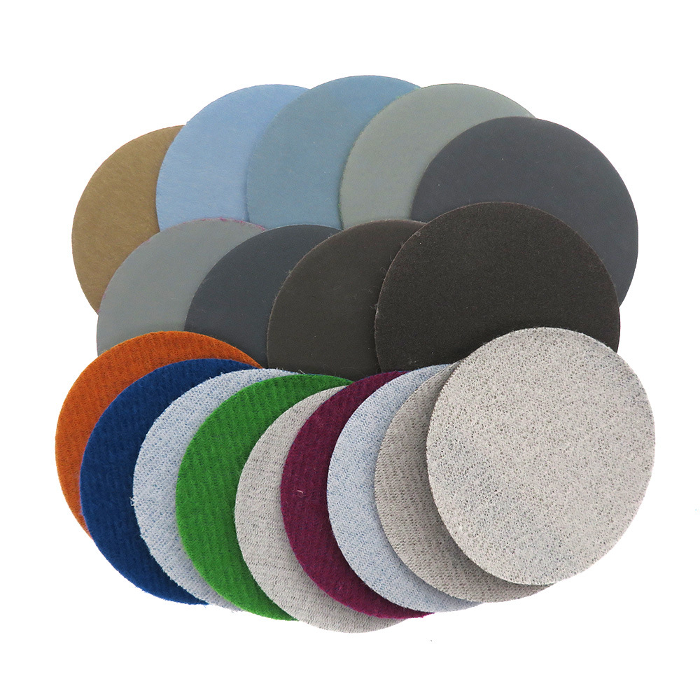 4-Inch 100 Size Flocked Round Plates Waterproof Abrasive Paper Crafts Fine Waterproof Abrasive Paper 10000 Mesh Play Dull Polish