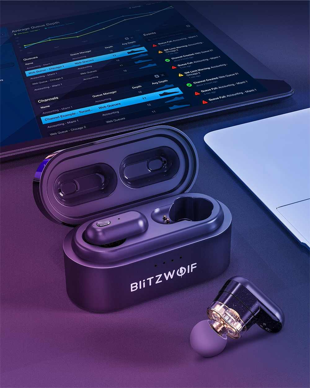 Blitzwolf BW FYE7 TWS Bluetooth 5.0 In-ear