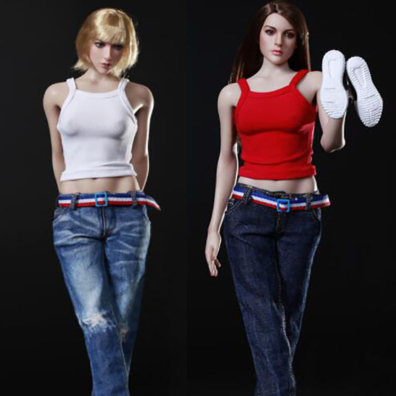 """1/6 Scale Sexy Girl Female Woman Lady Toys Female Baseball Sports Uniform Clothing Clothes Set For 12"""" Female Figure Body Doll"""