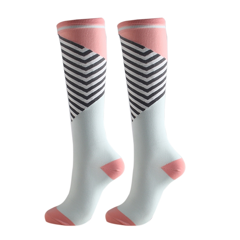 H7ded2a2eadf747c29995f4ed6037831eH - New Autumn Women Men Knee-High Socks Long Printed Casual Style Hosiery Footwear Accessories Fashion Compression Socks