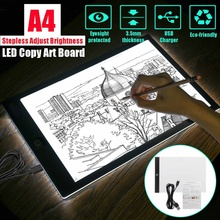 Pad Drawing-Tablet Led-Light Sketching Writing A3 Copy-Board Artcraft Animation Digital