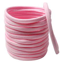 Nylon Headbands Diy-Accessories Baby-Girls Children Seamless for Wholesale 500pcs Super-Soft