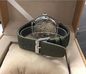 Image 5 - Nowe mody 44mm nie logo emalia biała tarcza azjatyckich 6498 17 klejnotów ruch męska mechaniczne zegarki GR47 20
