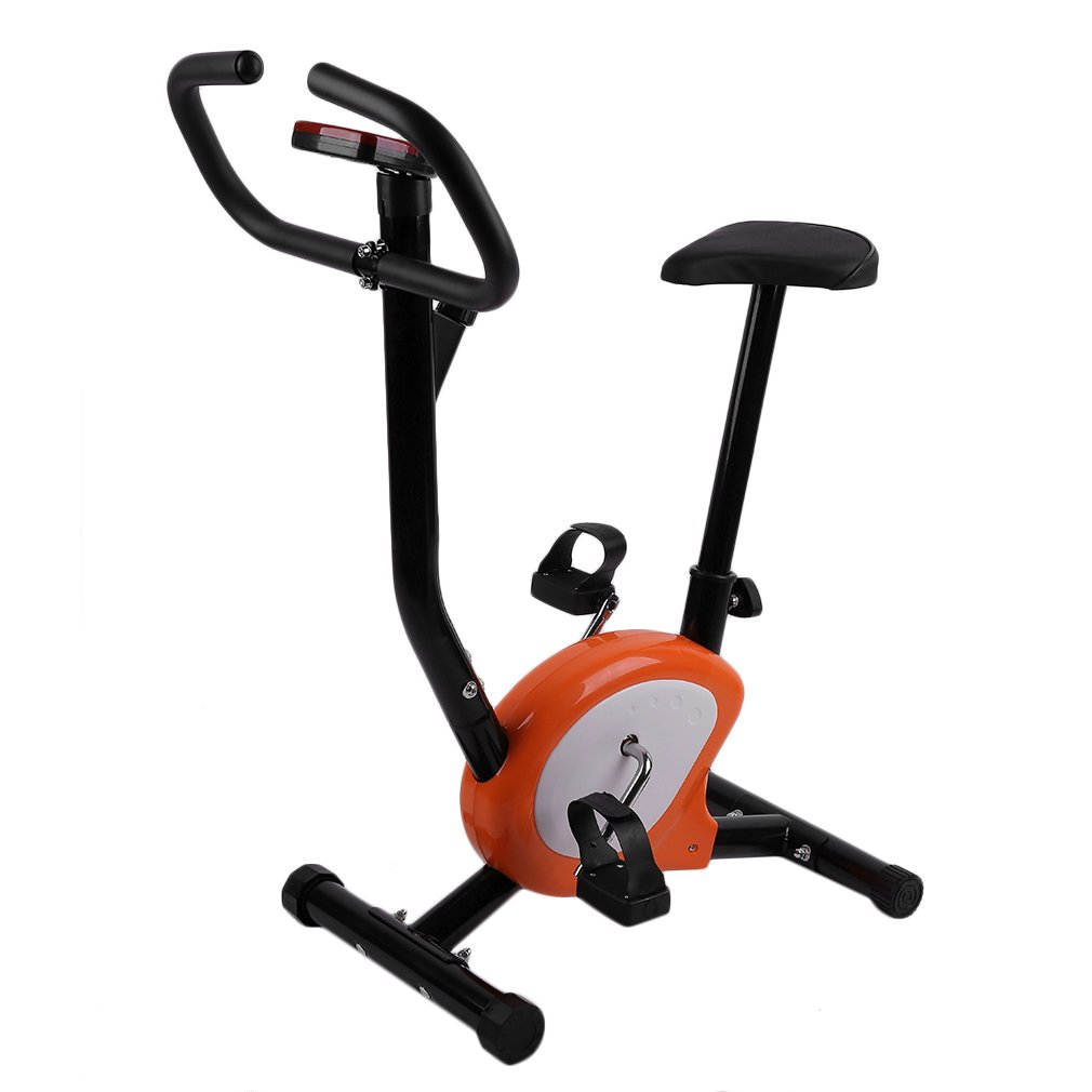 Indoor Adjustable Home Fitness Pedal Exercise Bike Upright LCD Display Bike Upright Exercise Bikes Indoor Cycling Bike Gift