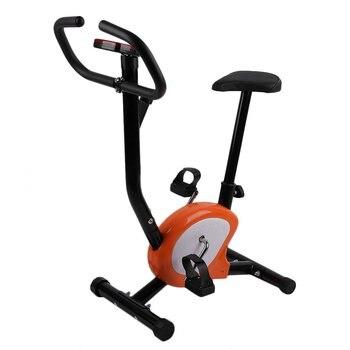 Interior ajustable en casa Fitness pedal bicicleta de ejercicio vertical LCD pantalla bicicleta vertical ejercicio bicicletas interior ciclismo bicicleta regalo