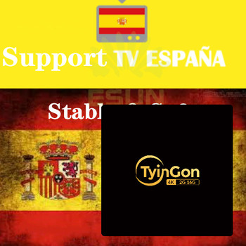 TyinGon Iptv Android  Box Support  Spain  Support Spainishs  Support European