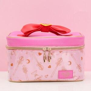 Image 1 - אנימה סיילור מון קוספליי איפור תיק רוכסן אחסון תוספות תיק מתנה לילדה