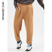 UNCLEDONJM 2019 Beam Foot Trousers 1:1 High Quality Fashion Solid Zipper Pantaloons Tapered Pants Jupon Sweatpants Hip hop 568W