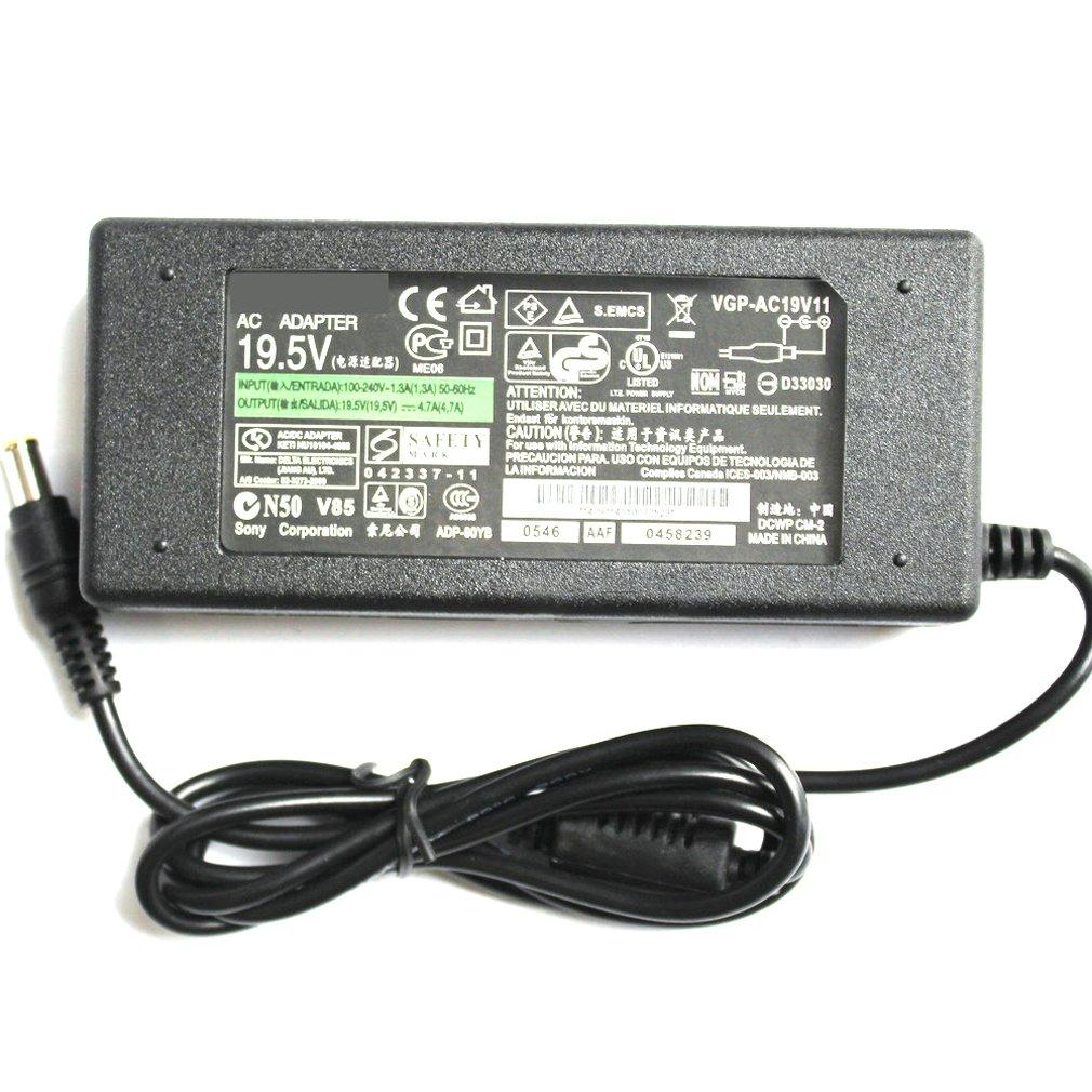 Universal Laptop 19,5 V 4,7 A AC Power Notebook Ladegerät Adapter für SONY Serie Computer Netzteil Externe